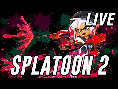 Splatoon 2 - Playing w/ Subs! [LIVE]