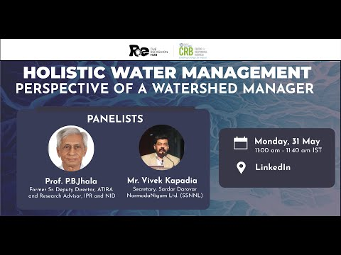 Holistic Water Management: Perspective of a Watershed Manager