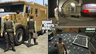 How To Get Inside the Golden Bank Vault and Get Unlimited Money in GTA 5? (Secret Money Truck)