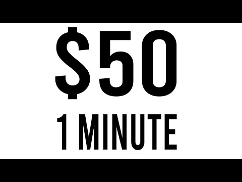 Earn $50 Every Minute! - Easy Way to Make Money Online 2021