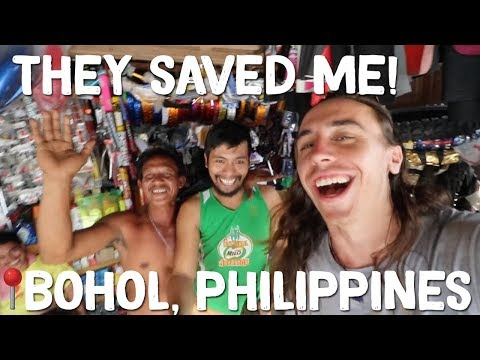 Local Filipinos help a stranded Foreigner in Bohol 🇵🇭 Philippines Travel Vlog Ep