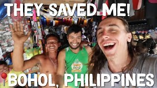 Local Filipinos help a stranded Foreigner in Bohol 🇵🇭 Philippines Travel Vlog Ep 24