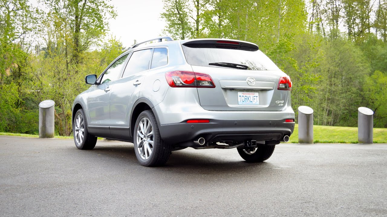 Bmw X5 Towing >> 2014-2015 Mazda CX-9 Stealth EcoHitch Trailer Hitch -Torklift Central - YouTube