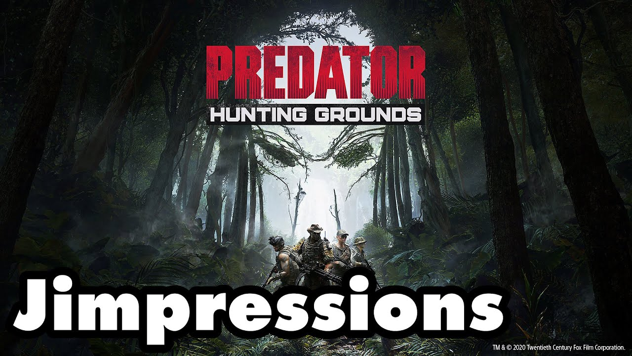 Predator: Hunting Grounds - Preying For A Better Game (Jimpressions)