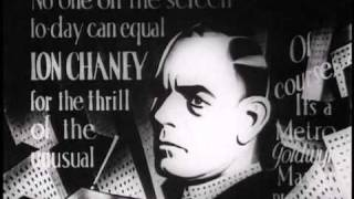 Tod Browning, Lon Chaney : The Big City - Trailer (1928)
