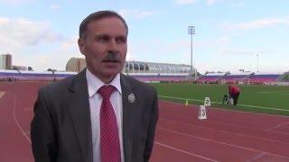 Вячеслав Мочалов, главный судья соревнований