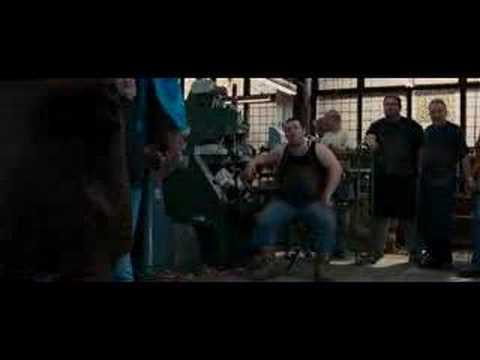 Nick Frost in the movie
