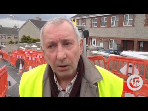 Gardai called to water meter protest
