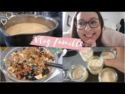 [vlog-famille]-crème-dessert-et-salade-de-quinoa