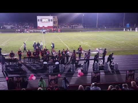 2018 Fort Madison High school Drumline