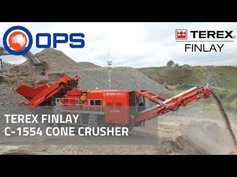 Terex Finlay C-1554 Cone Crusher | OPS Screening & Crushing