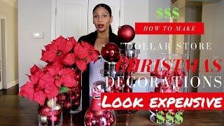 DIY Christmas Decoration Ideas | Dollar Tree Christmas Decor
