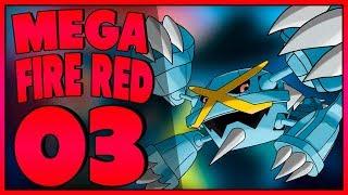 POKÉMON SUPER MEGA FIRE RED #03 - TODAS PEDRAS DE EVOLUÇÃO (GBA)