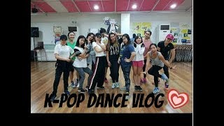 K-POP DANCE VLOG!!!!