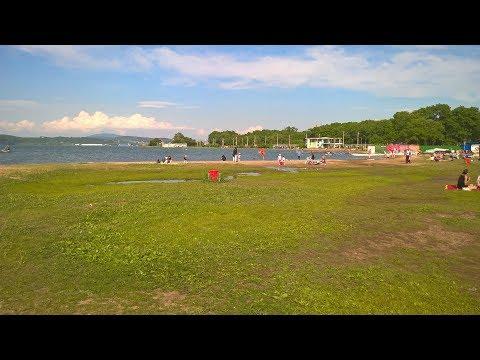 Пляж на Санаторной . Владивосток