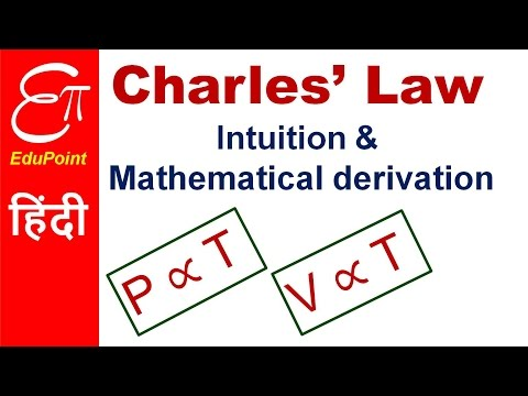 Charles' Law | video in HINDI