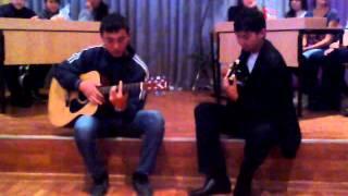 испанский бой на гитаре).mp4