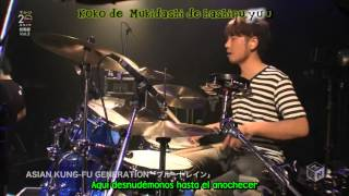 Asian Kung Fu Generation-  Blue Train [ Live ] Sub Esp