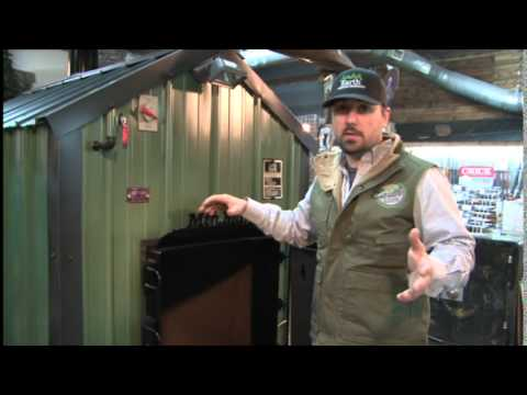 Earth Outdoor Furnace - Furnace Overview - YouTube