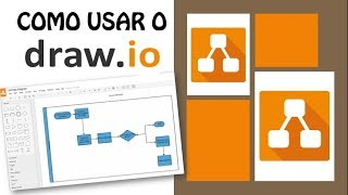 COMO USAR O DRAW.IO (PT-BR)   Tutorial para criar fluxogramas/diagramas de blocos