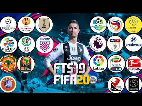 DOWNLOAD FTS 19 MOD FIFA 19 LIGA 1 + AFC Cup + EPL + LaLiga + Europe & More  Best Graphics HD 280MB