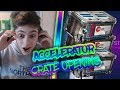 ACCELERATOR CRATE OPENING ROCKET LEAGUE ROAD TO 100K CRATE OPENING TRADE UPS LIVE mp3