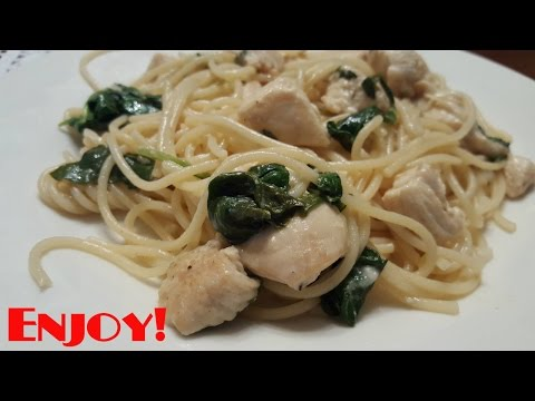 Not So Lazy Cook: Garlic Lemon Butter Chicken With Pasta