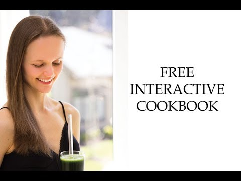FREE Nutrition Refined's Interactive Cookbook (with new recipes & videos)