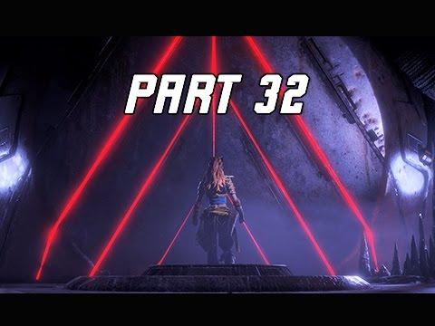 Horizon Zero Dawn Walkthrough Part 32 - Deep Secrets of the Earth (PS4 Pro Let's Play Commentary)