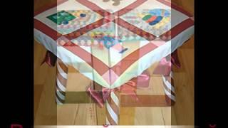Чехол для табурета своими руками(Как сшить чехол для табурета. Разные варианты - от сшитых из ткани до вязанных крючком., 2012-04-06T10:15:44.000Z)