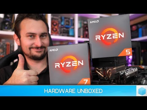 AMD Ryzen 7 2700X & Ryzen 5 2600X Benchmark Review, Ryzen's Next Step