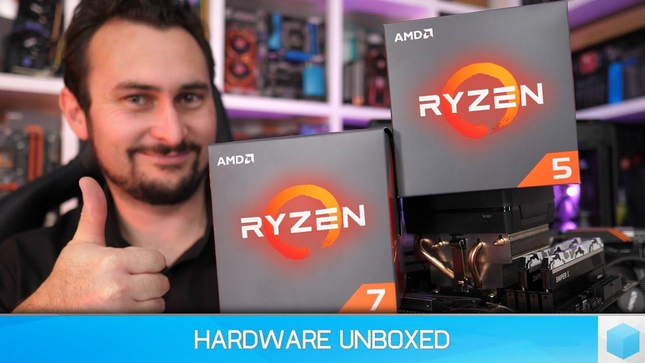 AMD Ryzen 7 2700X & Ryzen 5 2600X Benchmark Review, Ryzen's Next Step