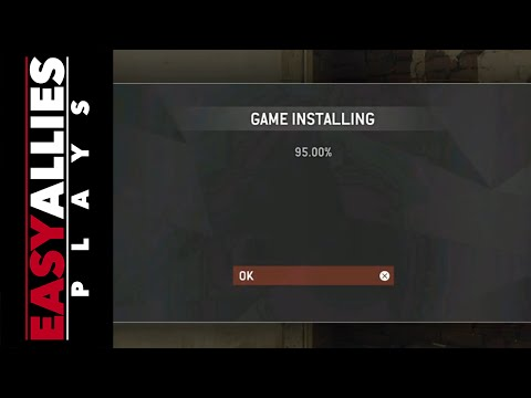 Easy Allies Plays Homefront... Installing Please Wait