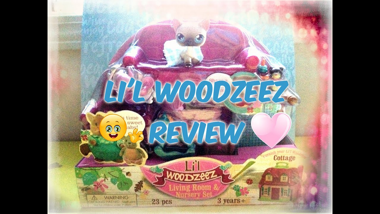 LPS Lil Woodzeez Living Room Nursery Set Review