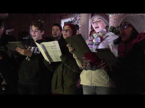 Haddon Township High School Madrigals @ Tree Lighting Ceremony  2