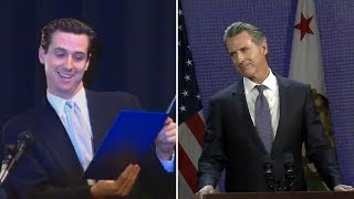 Gavin Newsom's rise from renegade SF mayor to governor of California -- Timeline