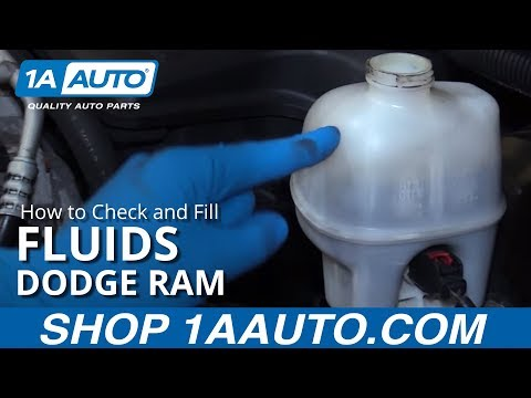 How to Check and Fill Fluids 02-08 Dodge Ram 5.7L