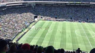 Seattle Sounders vs Portland Timbers at Century Link (5/27/2017) part4