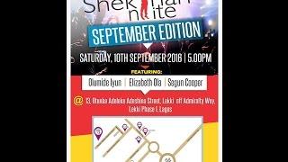 Shekinah Nite : #SeptemberEdition2016