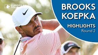 Brooks Koepka Highlights | Round 2 | 2019 Saudi International