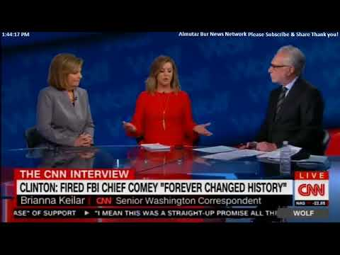 Hillary Clinton: Fired FBI Chief James Comey, FOREVER CHANGED HISTORY