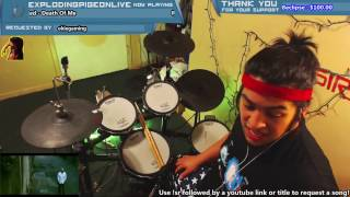 snails pegboard nerds deep in the night muzzy remix new 2017 blind drum cover live on twitch