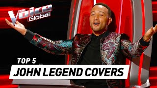BEST JOHN LEGEND auditions in The Voice