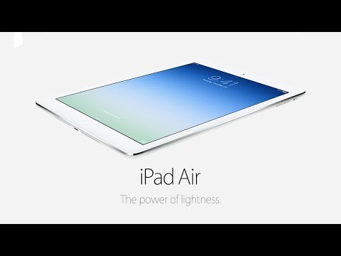 Official iPad Air Trailer
