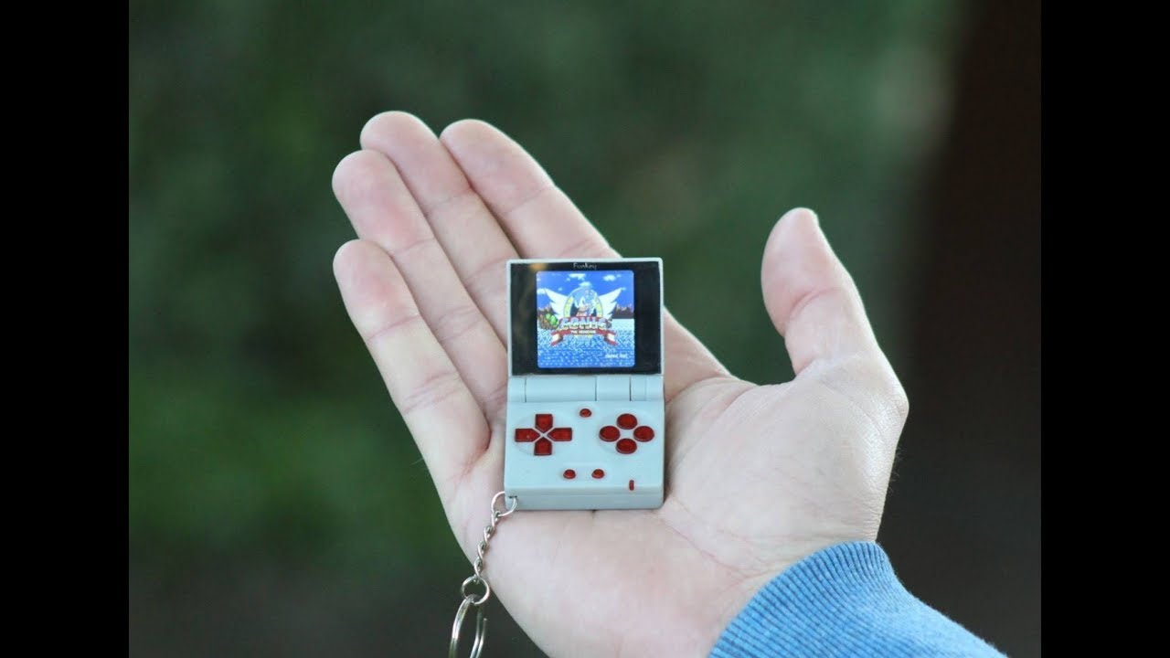 FunKey project - All your games on your keychain ! | Hackaday io