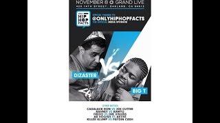 Dizaster vs Big T   Rap Battle   FCMG presents
