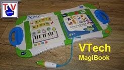Vtech magibook magic book deutsch Erfahrungen kurze Vorstellung Video Test unboxing
