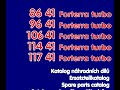 Zetor parts catalog