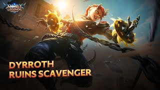 Dyrroth Starlight Skin | Ruins Scavenger | Mobile Legends: Bang Bang
