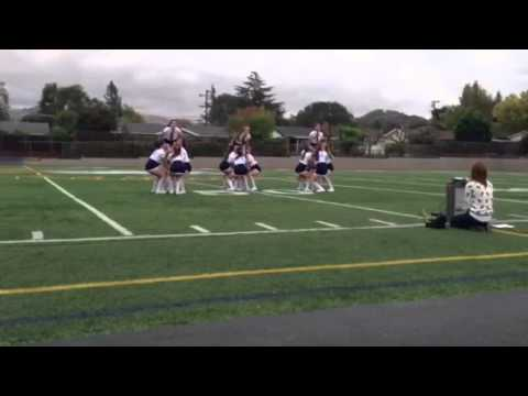 Berean Christian High School homecoming pep-rally routine